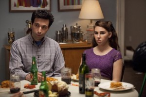 Alex Karpovsky and Zosia Mamet in Girls
