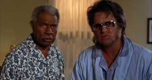 Ossie Davis and Bruce Campbell in Bubba Ho-Tep