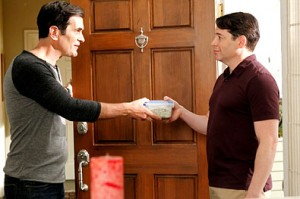 Ty Burrell and Matthew Broderick in Modern Family