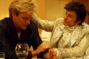 Matt Damon and Michael Douglas in Behind the Candelabra