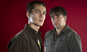 Ellar Coltrane and Richard Linklater of Boyhood (Photo courtesy of The Guardian. No copyright infringement intended.)