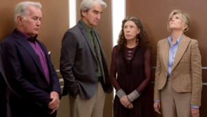 Martin Sheen, Sam Waterston, Lily Tomlin and Jane Fonda in Grace & Frankie