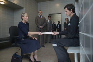 Robin Wright and Christian Carmago in House of Cards