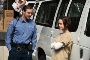 James McMinamin and Taryn Manning in Orange is the New Black