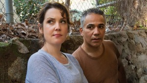 Melanie Lynskey and John Ortiz in Togetherness