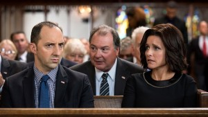 Tony Hale, Kevin Dunn and Julia Louis-Dreyfus in Veep