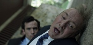 Nathan Darrow and Kevin Spacey on House of Cards