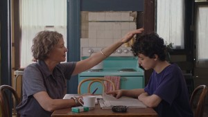 Annette Bening and Lucas Jade Zumann in 20th Century Women