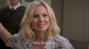 Kristen Bell in The Good Place