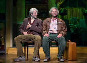 John Mulaney and Nick Kroll in Oh, Hello on Broadway
