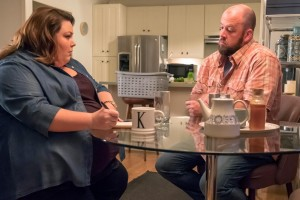 Chrissy Metz and Chris Sullivan in This Is Us