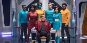 The cast of USS Callister