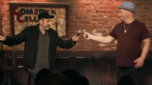 Dave Attell and Jeff Ross in Bumping Mics