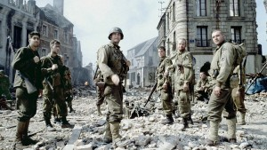 The cast of Saving Private Ryan