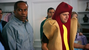 Tim Robinson (in hot dog costume) in I Think You Should Leave